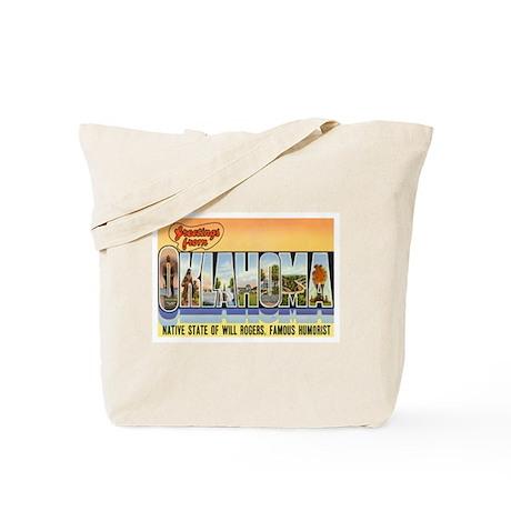 OKLAHOMA OK Tote Bag