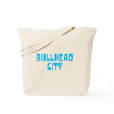 Bullhead City Faded (Blue) Tote Bag