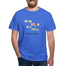 RAnsom notes T-Shirt
