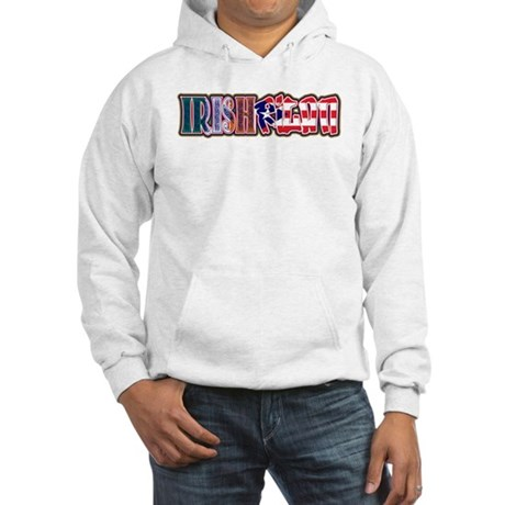 IrishRicanAgain! Hooded Sweatshirt