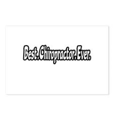 """Best. Chiropractor. Ever."" Postcards (Package of"