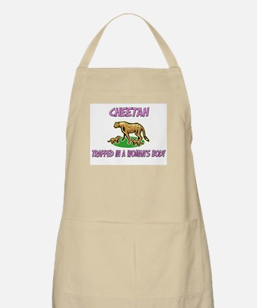 Cheetah Trapped In A Woman's Body BBQ Apron