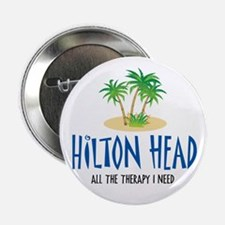 "Hilton Head Therapy - 2.25"" Button"