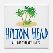 Hilton Head Therapy - Tile Coaster