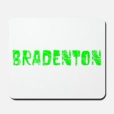 Bradenton Faded (Green) Mousepad