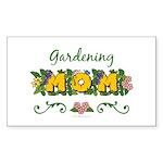 Gardening Mom Gardener Rectangle Sticker 50 pk)