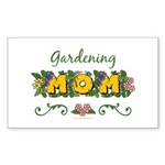 Gardening Mom Gardener Rectangle Sticker