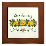 Gardening Mom Gardener Framed Tile
