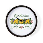 Gardening Mom Gardener Wall Clock