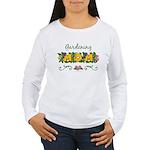 Gardening Mom Gardener Women's Long Sleeve T-Shirt