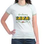 Gardening Mom Gardener Jr. Ringer T-Shirt
