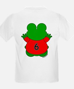 Six Year Old Frog T-Shirt