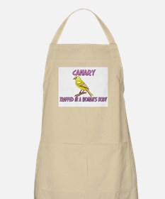 Canary Trapped In A Woman's Body BBQ Apron