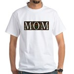 Vintage Decorative Mom Design White T-Shirt