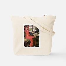 Ladies in Red at their Looms