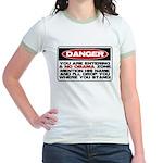 No Obama Zone Jr. Ringer T-Shirt
