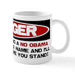 No Obama Zone Mug