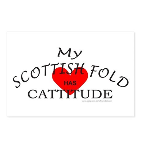 SCOTTISH FOLD Postcards (Package of 8)