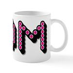Pink Disco Dots Mom Mug