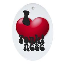'I Love Tonks!' Keepsake (Oval)