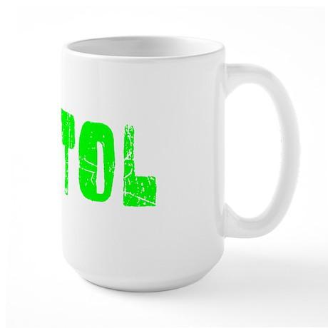 Bristol Faded (Green) Large Mug