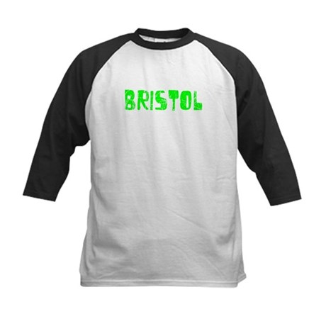 Bristol Faded (Green) Kids Baseball Jersey