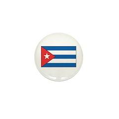 Cuban Flag Mini Button (10 pack)
