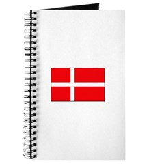 Danish / Denmark Flag Journal