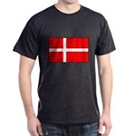 Danish / Denmark Flag Dark T-Shirt