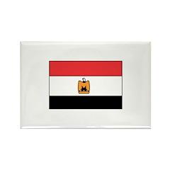 Egyptian Flag Rectangle Magnet (100 pack)