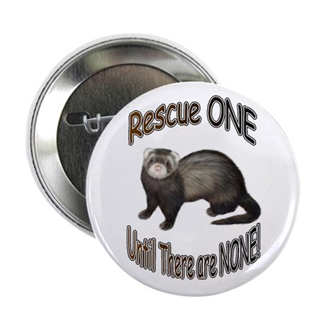 "Rescue Ferret 2.25"" Button (10 pack)"