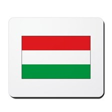 Hungarian Flag Mousepad