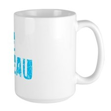 Cape Girardeau Faded (Blue) Mug