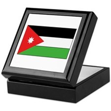 Jordan Flag Keepsake Box