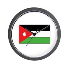 Jordan Flag Wall Clock
