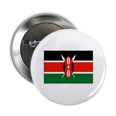 "Kenya Flag 2.25"" Button"
