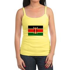 Kenya Flag Jr.Spaghetti Strap