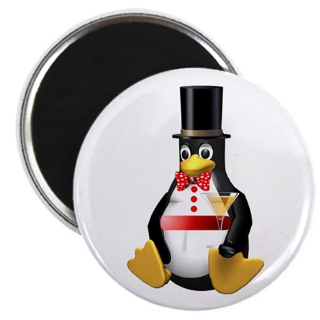 "Tux Celebrates - LOL! 2.25"" Magnet (100 pack)"