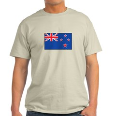 New Zealand Flag Light T-Shirt