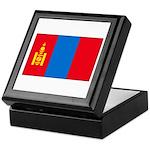 Mongolian Flag Keepsake Box