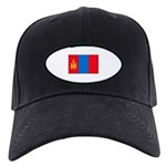 Mongolian Flag Black Cap