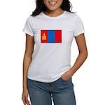 Mongolian Flag Women's T-Shirt