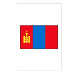 Mongolian Flag Postcards (Package of 8)