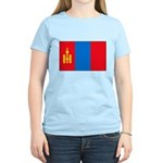 Mongolian Flag Women's Light T-Shirt