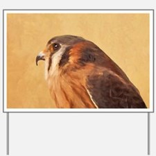 American Kestrel Yard Sign