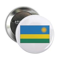"""Rwanda Flag 2.25"""" Button (10 pack)"""