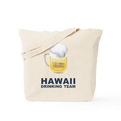 Hawaii Drinking Team Tote Bag