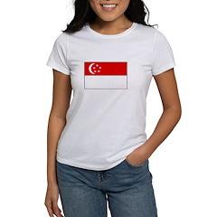 Singapore Flag Women's T-Shirt