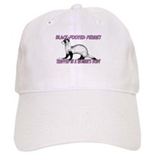 Black-Footed Ferret Trapped In A Woman's Body Baseball Cap