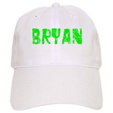 Bryan Faded (Green) Baseball Cap